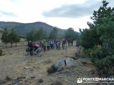 Pico Perdiguera, salir por madrid; rutas alto tajo